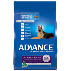 ADVANCE DOG ADULT ALL BREED TOTAL WELLBEING TURKEY & RICE