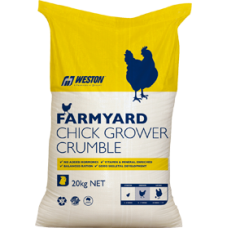 CHICK GROWER CRUMBLES FARMYARD