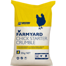 CHICK STARTER CRUMBLES FARMYARD