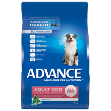 ADVANCE DOG ADULT ALL BREED TOTAL WELLBEING LAMB & RICE