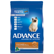 ADVANCE CAT ADULT HAIRBALL CHICKEN
