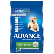 ADVANCE DOG ADULT LARGE BREED WEIGHT CONTROL CHICKEN