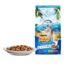 FRISKIES ADULT DRY CAT FOOD SEAFOOD SENSATIONS